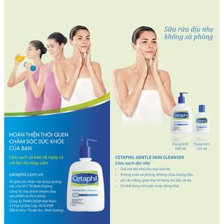 Hình ảnh [Tặng 2 SRM 59ml/chai] Combo 2 sữa rửa mặt Cetaphil Gentle Skin Cleaner 500ml-3