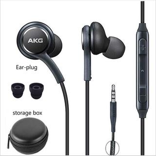 Tai nghe nhét tai màu đen cho Samsung S8 S9 S10 Ig955 3.5mm