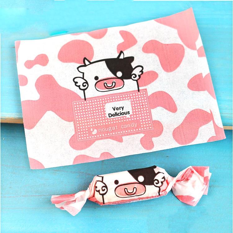 Set 100 giấy bọc kẹo tự làm chống thấm nước xinh xắn