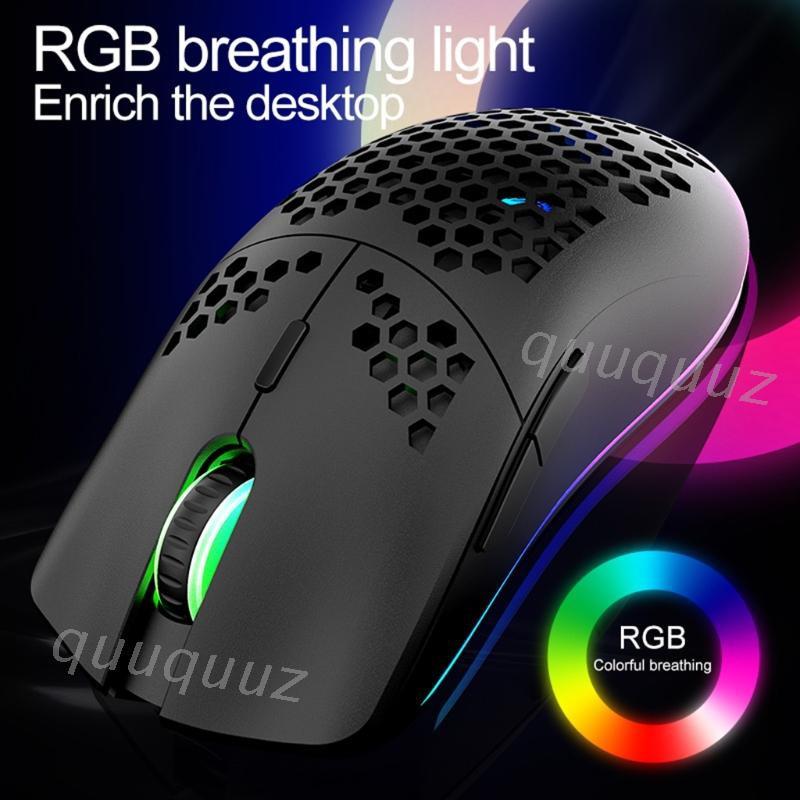 Chuột chơi game 2.4g không dây 3200 DPI RGB XYH80