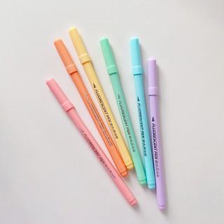 Hình ảnh Set 6 bút đánh dấu Winzige màu sắc ngọt ngào-4