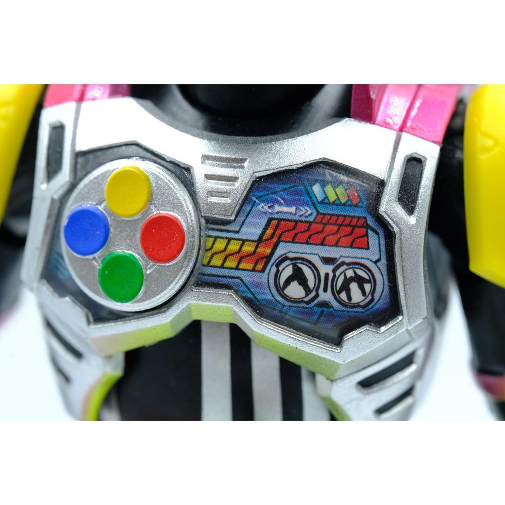 Mô hình SHF Lazer Turbo Bike Gamer Level 0. Chính hãng Bandai S.H.Figuarts Kamen Rider Ex-aid Laser Full Box