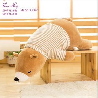 Gối Ôm Gấu Bông Ngủ( Size 40cm)