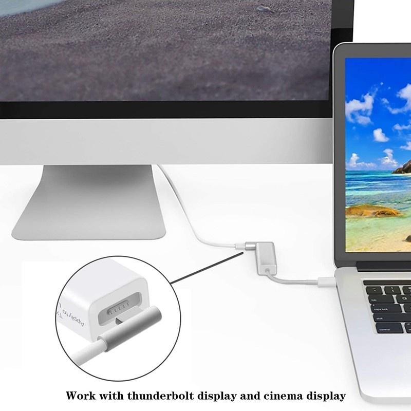 Bộ Chuyển Đổi Usb 3.1type C Sang 2 5pin Cho Macbook Pro