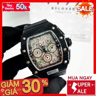 [QUÀ TẶNG] Đồng hồ nam - Đồng Hồ Dây Cao Su Nam Thép Đặc Không Gỉ Chống Xước Chống Nước A65UP - 1199 Watches