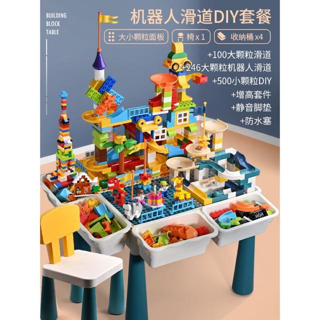 Bàn lắp ghép lego đa năng giáo dục trẻ em