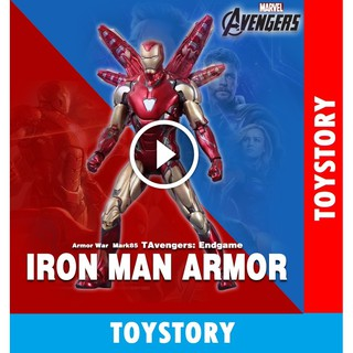 [ToyStory] Mô hình Iron Man Mark 85 – ZD Toys Avengers Endgame – MK 85 ZD Marvel Figure Người Sắt