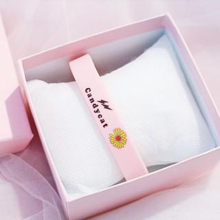 Vòng đeo tay Cadycat VTHC05 cao su họa tiết Hoa Cúc tuyệt đẹp 6