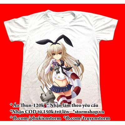 Áo Thun Manga Anime