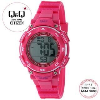 Đồng hồ điện tử nữ Q&Q Citizen M149J006Y dây nhựa thương hiệu Nhật Bản thumbnail