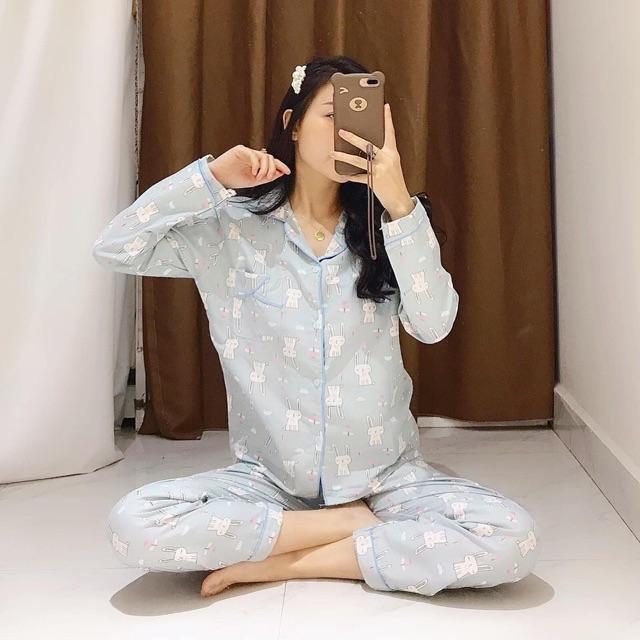 Bộ ngủ hình dài tay cực xinh