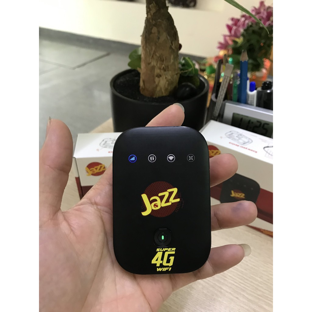 Bộ Phát Wifi 4G ZTE MF673 JAZZ - Tốc Độ 4G 150Mbps - Hỗ Trợ 12 user