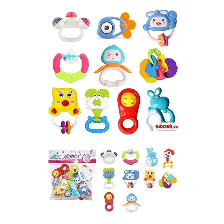 Túi đồ chơi xúc xắc 7 món - 10 món - 12 món Toys House