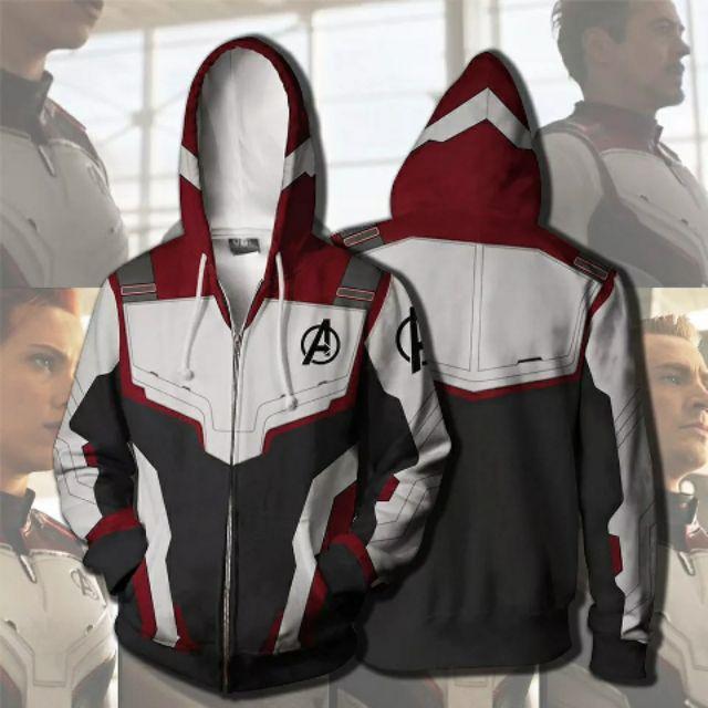 Áo Hoodie 3D iron Man Phim Avengers Cực Chất - Áo khoác nỉ