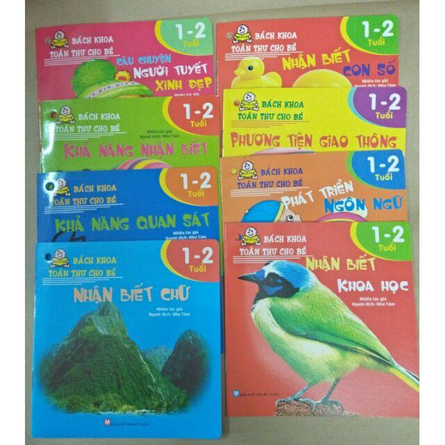 Sách : Bách khoa toàn thư cho bé từ 1-2 tuổi trọn bộ 8 cuốn - 3344470 , 1161965076 , 322_1161965076 , 38000 , Sach-Bach-khoa-toan-thu-cho-be-tu-1-2-tuoi-tron-bo-8-cuon-322_1161965076 , shopee.vn , Sách : Bách khoa toàn thư cho bé từ 1-2 tuổi trọn bộ 8 cuốn