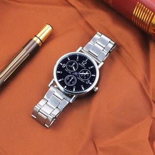 Đồng hồ nam đeo tay cao cấp dây kim loại Modiya DH100