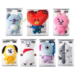 BT21 100% official BAG CHAMING KEYRING DOLL