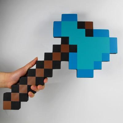 Combo Rìu Kiếm Cúp Minecraft Diamond