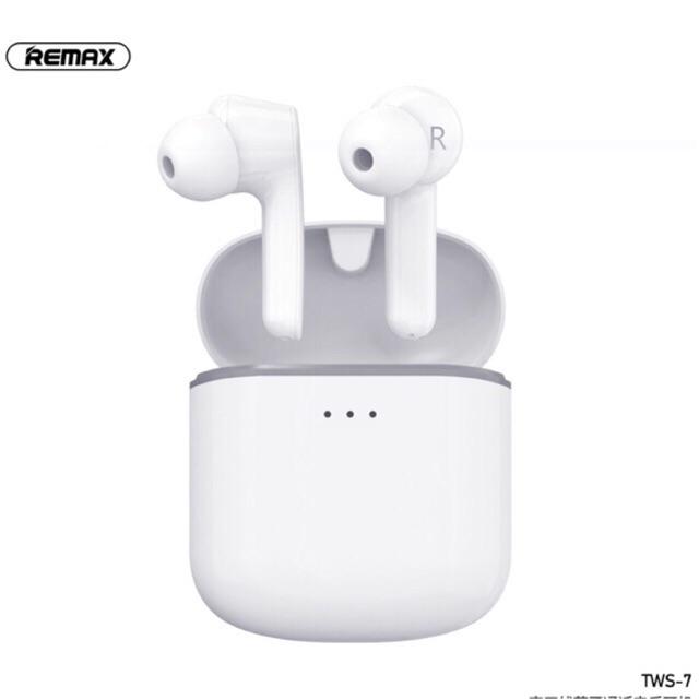 Tai nghe bluetooth True Wireless Remax TWS-7 V5.0 kết nối từng tai độc lập