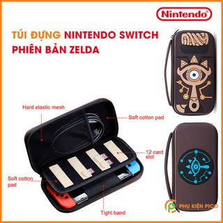 [Mã 2404EL10K giảm 10K đơn 20K] Túi đựng Nintendo Switch phiên bản ZELDA túi cứng chống sốc chống nước