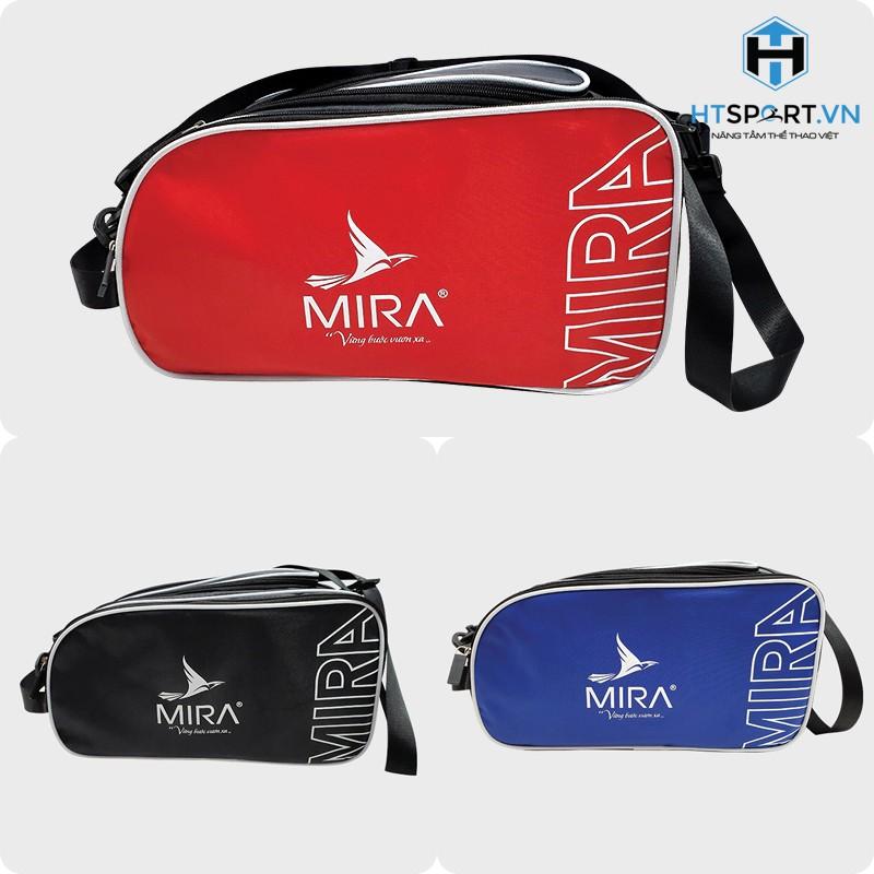 Túi đựng giày đá banh, túi 2 ngăn đựng giày đồ thể thao bóng đá đá bóng, balo tập gym Mira chính hãng