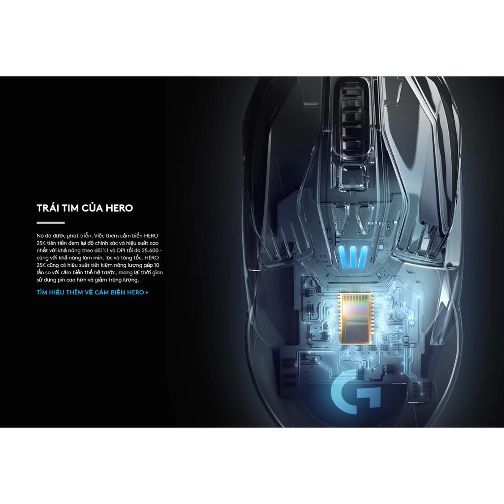 Chuột không dây Logitech G903 Lightspeed HERO 25600 DPI