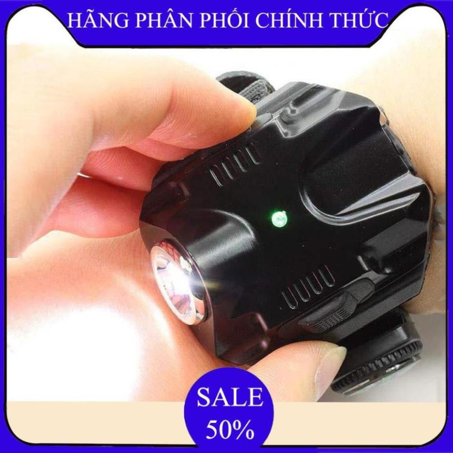 Đèn pin đeo tay,Đèn Led Siêu Sáng đeo tay Kiêm La Bàn Phượt - DH2211 () -  Bảo hành úy tín 1 đổi 1 .. chính hãng 304,200đ