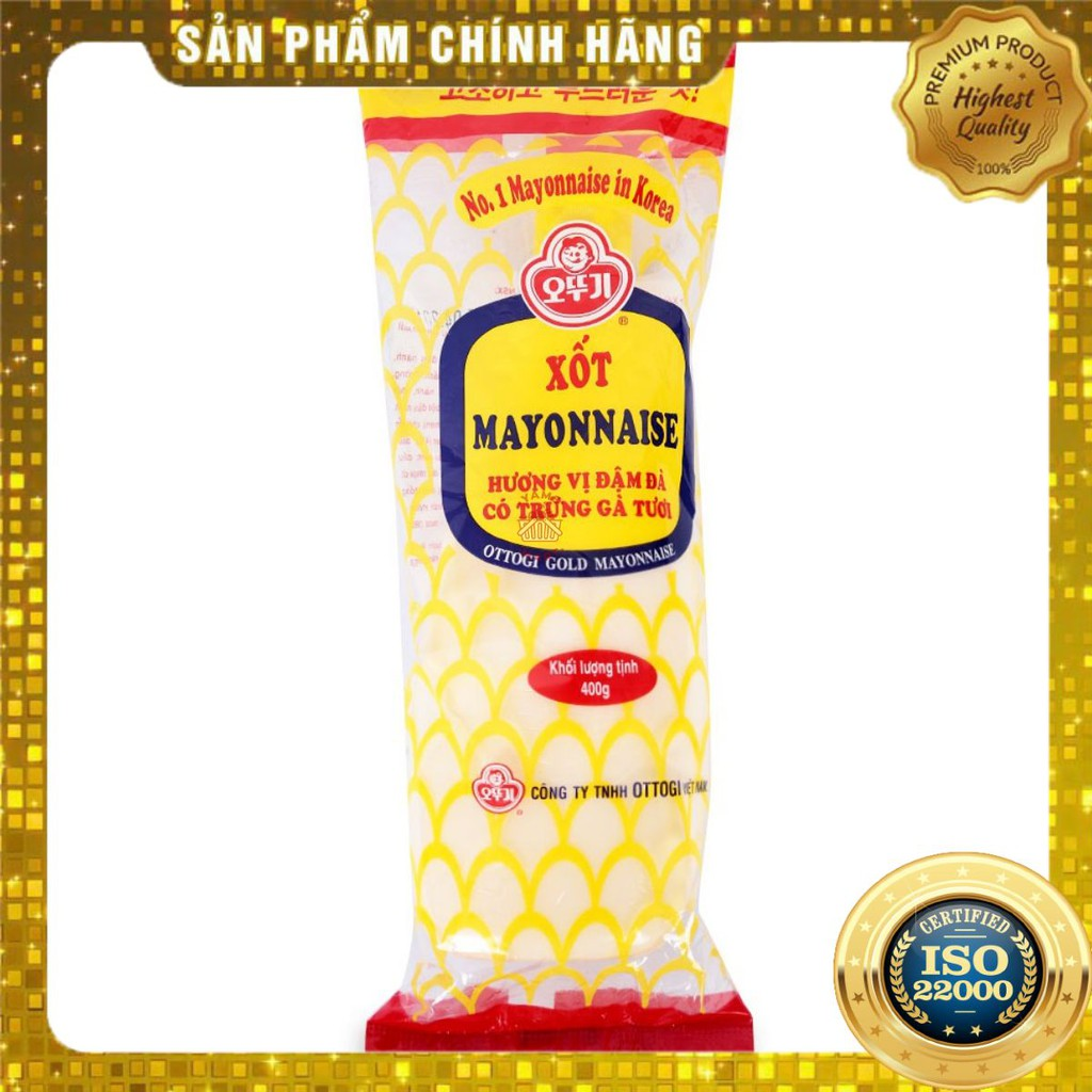 [ Yams Mart ] Sốt Mayonnaise Ottogi Gói 400G-