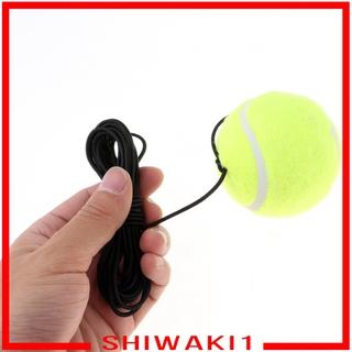 [SHIWAKI1] Tennis Training Exercise Ball for Beginner Indoor Outdoor Practice thumbnail