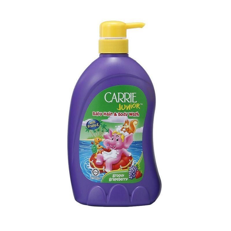 Sữa tắm gội cho bé Carrie Junior 700g hương Cherry/Grapeberry