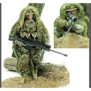 Mô hình lính MHL07 lính bắn tỉa quân phục xanh