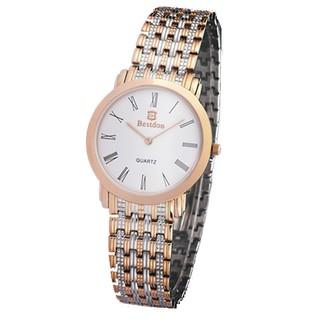 Đồng hồ nam Bestdon BD9924G dây thép không gỉ (vàng)