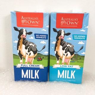 Sữa Own Úc nguyên kem, ít béo date 6 2021 thumbnail