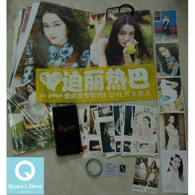 Combo photobook Địch Lệ Nhiệt Ba
