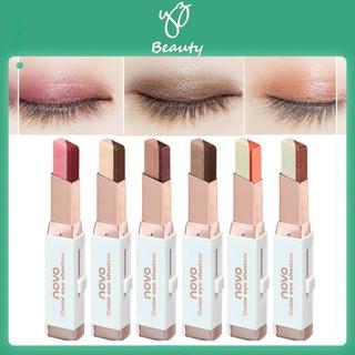 Bút sáp màu mắt NOVO Eyeshadow Double Color Grandient Stick (Phấn mắt NOVO dạng thỏi 2 màu có ánh nhũ) - YZ Beauty thumbnail