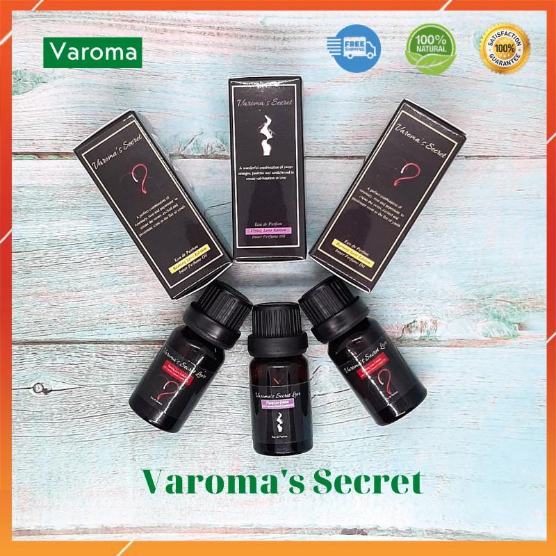 Nước hoa vùng kín Varoma's Secret 10ml hương thơm nồng nàn quyến rũ châu Âu tặng thêm mùi hương khác