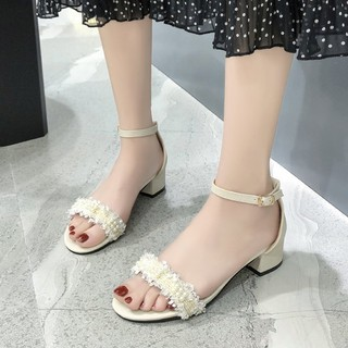 (ORDER) Sandal cao gót da mềm BIG Size 34-43