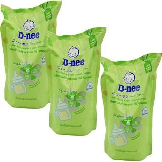[ UY TÍN ] Set 1 Nước rửa bình sữa Dnee cho bé bộ 4 cọ rữa bình sữa siêu sạch cho bé
