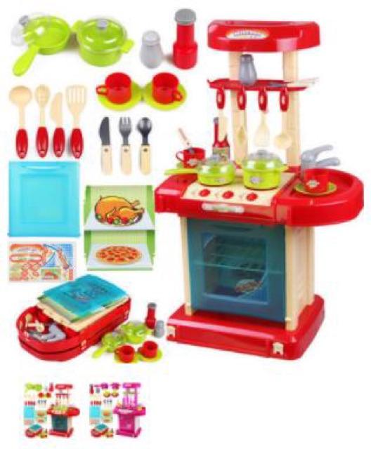 Bộ đồ chơi bếp nấu ăn phong cách hiện đại