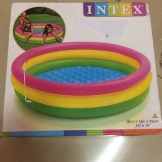 Bể Bơi Phao Cầu Vồng INTEX Kích Thước 1m14 – Bể Bơi Cao Cấp