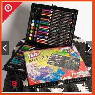 combo 5 hộp màu vẽ 150 món cho bé cực tiện lợi