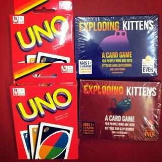 Combo Mèo Nổ và Uno