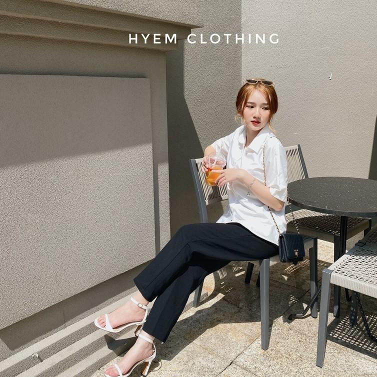 Mặc gì đẹp: Xinh tươi với [Mã FATHANG5 giảm 10K đơn 50K] Áo Sơ Mi Trắng Tay Dài, Tay Ngắn Đi Học Đi Làm Công Sở Màu Trắng Style Hàn Quốc Soái Tỉ