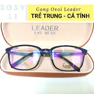 Gọng kính cận Oval TRẺ TRUNG – NĂNG ĐỘNG Leader TR90 B5551