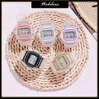 Đồng hồ điện tử nữ Sport S043 dây silicon cực bền, ôm tay