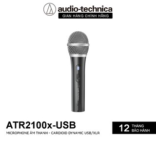 Microphone Audio-technica ATH-ATR2100X USB - Hàng Chính Hãng