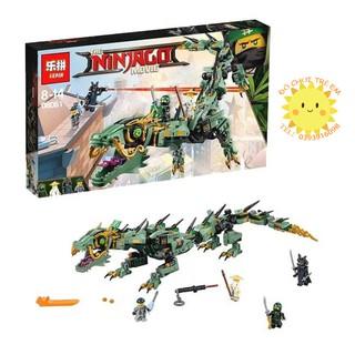 Lego Ninjago 70612 (có sẵn) Rồng Xanh Huyền Thoại của ninja
