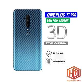 Dán carbon Oneplus 7T Pro chống trầy mặt lưng