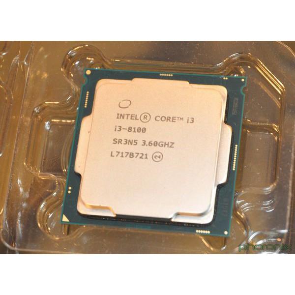 Bộ xử lý Intel® Core™ i3-8100