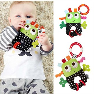 Infant Bed Hanging Robot Pattern Toy Hand Bell Stroller Toy Rattles